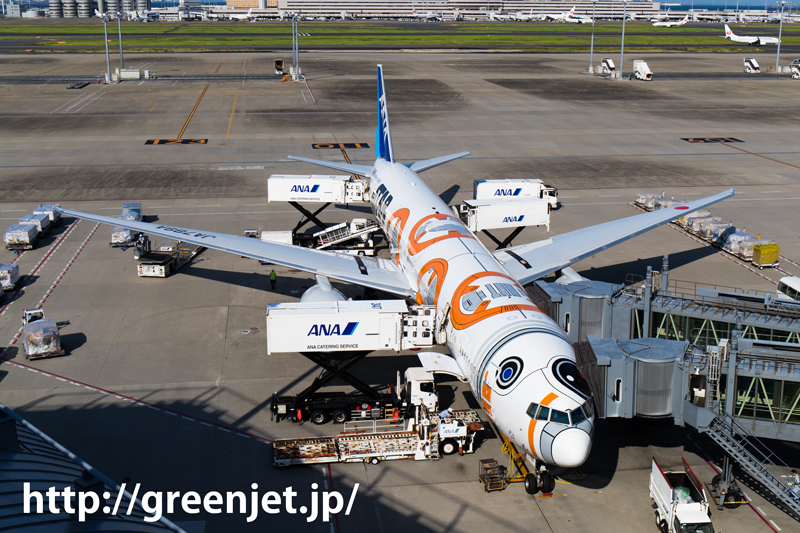 ANA ボーイング 777-381/ER