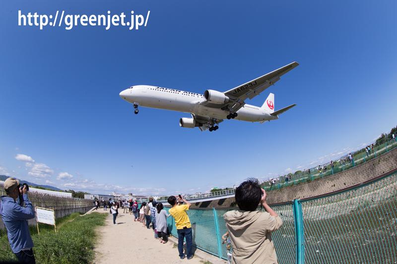 JAL ボーイング767-346/ER