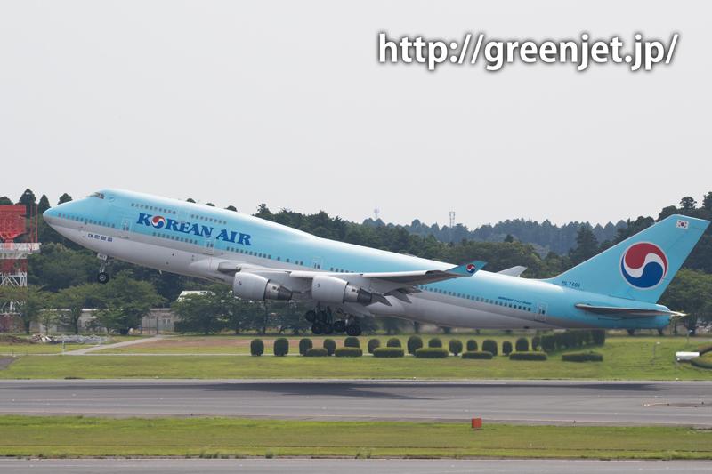 大韓航空 ボーイング 747-4B5