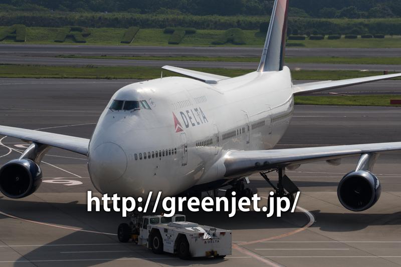 デルタ航空 ボーイング747-451