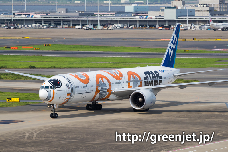 ANA ボーイング 777-381/ER スターウォーズジェット