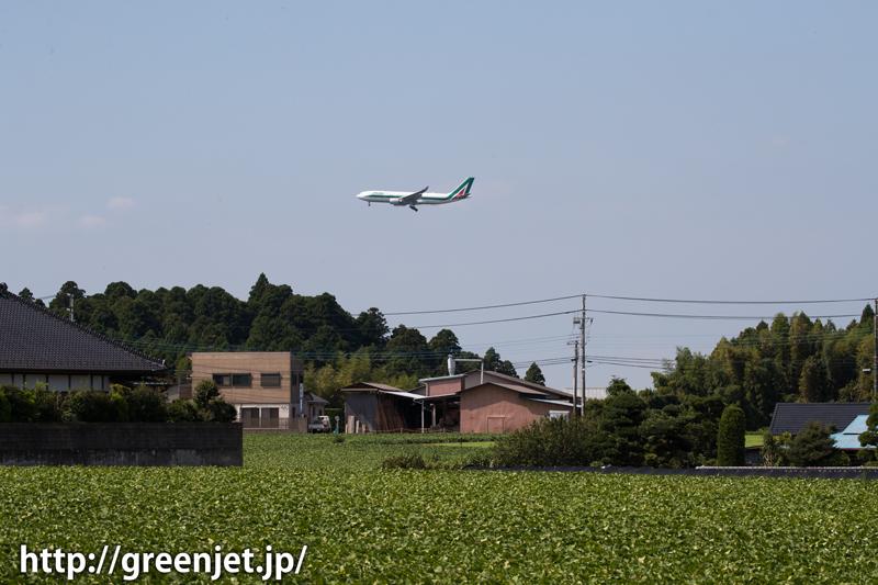 成田某所 アリタリア航空 エアバス A330