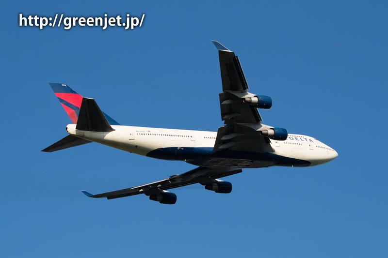 デルタ航空のボーイング747-451