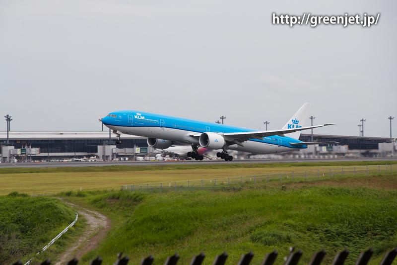 KLMオランダ航空 ボーイング777(トリプルセブン)