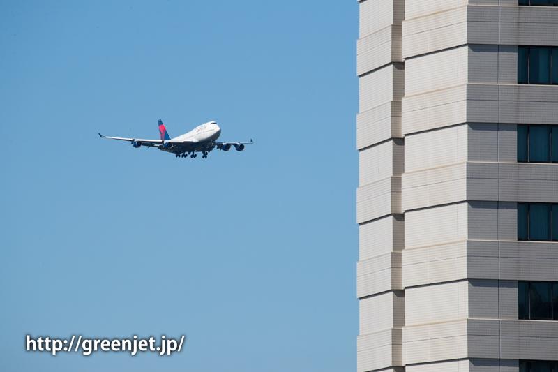 デルタ航空のボーイング747