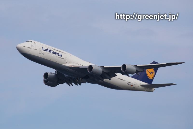 羽田 つばさ公園 ルフトハンザ航空 ボーイング 747