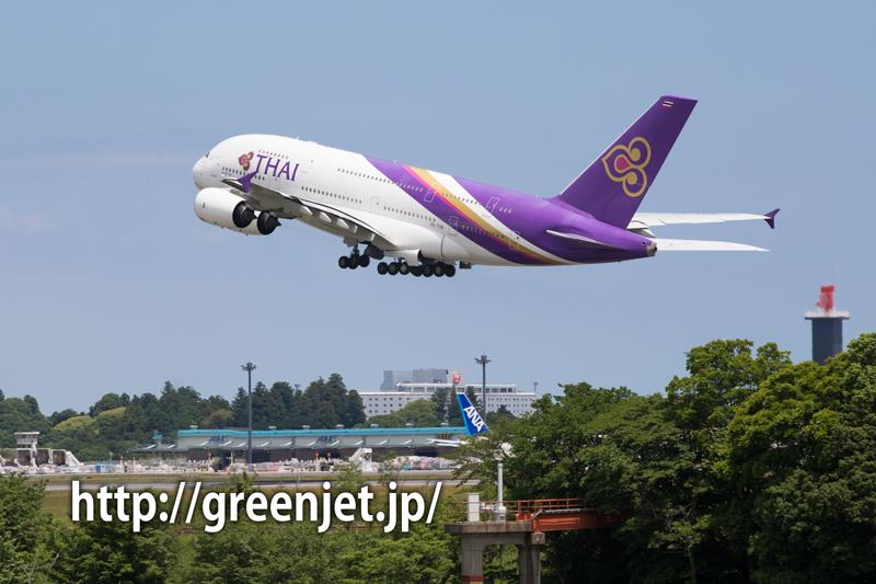 タイ国際航空 エアバス A380-841