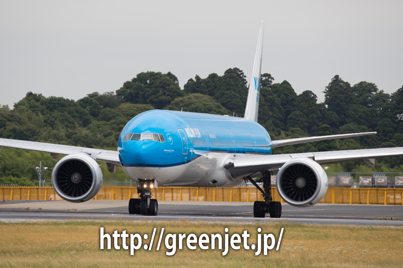 KLMオランダ航空のボーイング777