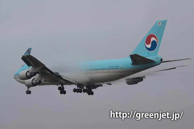 大韓航空のボーイング747