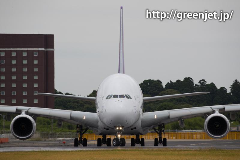 ゲジポイント/タイ航空のエアバスA380