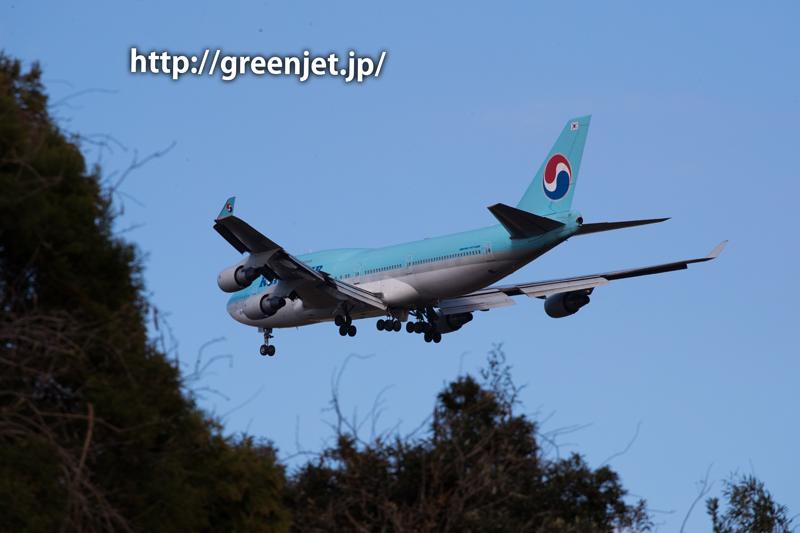 大韓航空のジャンボジェット