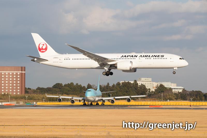 大韓航空のジャンボジェット@ゲジポイント