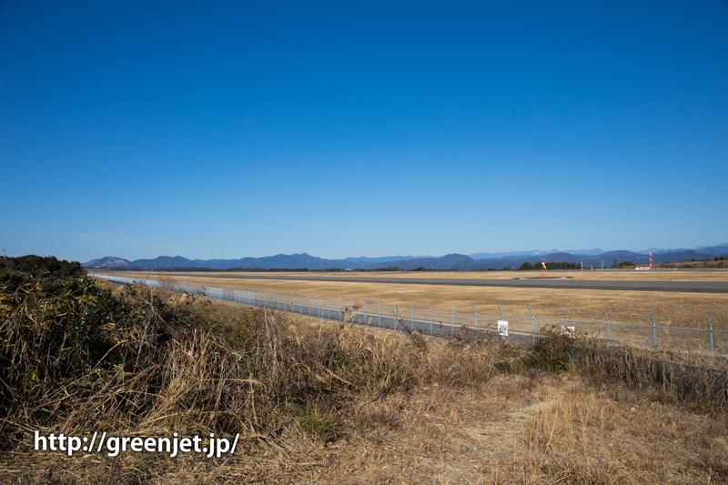 富士山静岡空港滑走路東側南展望台