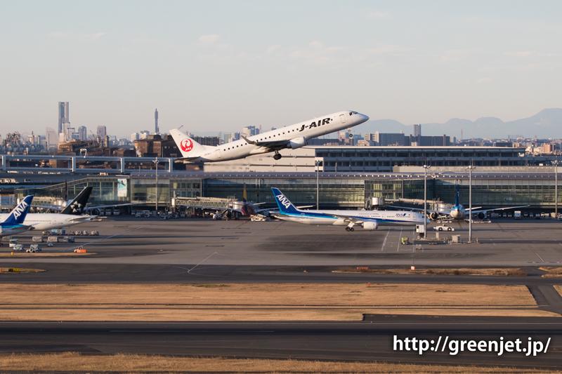 ハミングバードディパーチャー/J-AIRのERJ-190STD