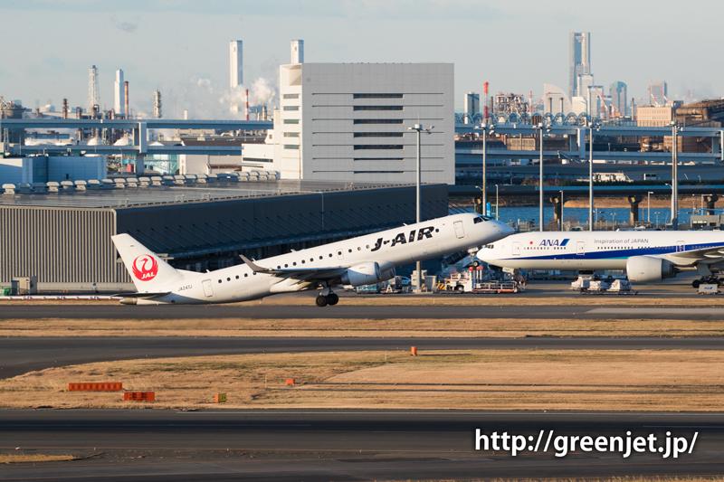 ジェイ・エア エンブラエル ERJ-190-100@羽田