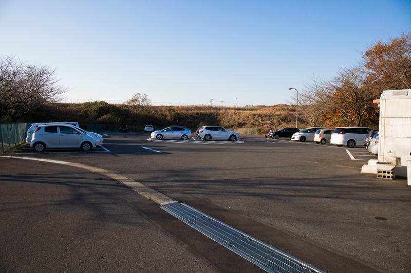 三里塚さくらの丘の駐車場