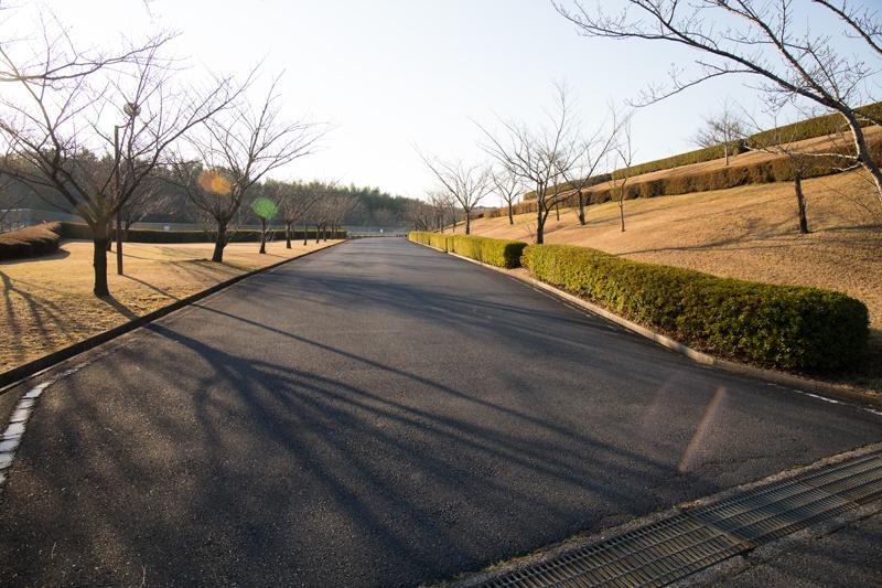 三里塚さくらの丘の入口