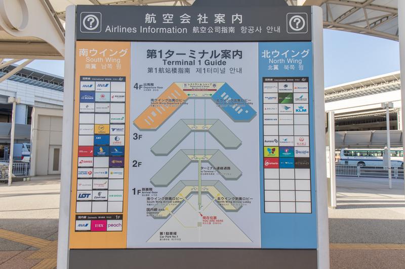 【成田の飛行機撮影スポット】第一ターミナル展望デッキ