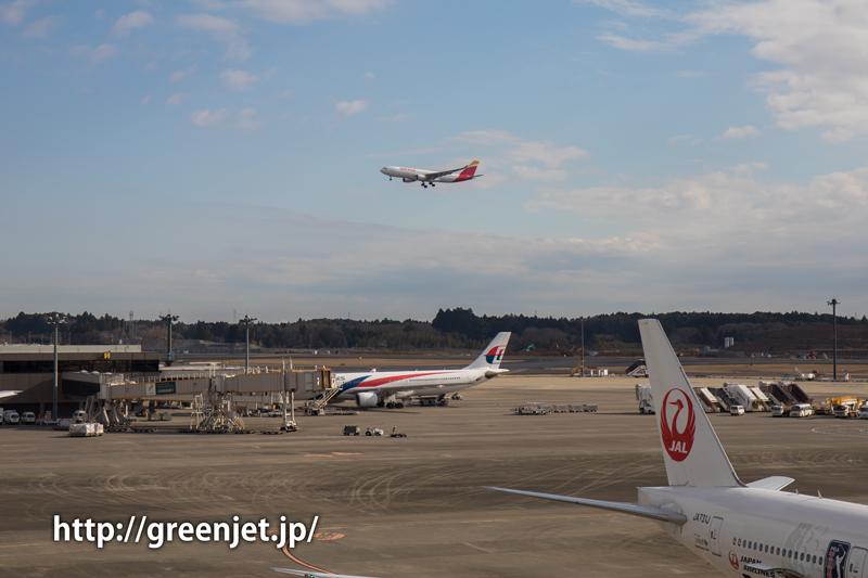 【成田の飛行機撮影スポット】第二ターミナル展望デッキ@イベリアのA330