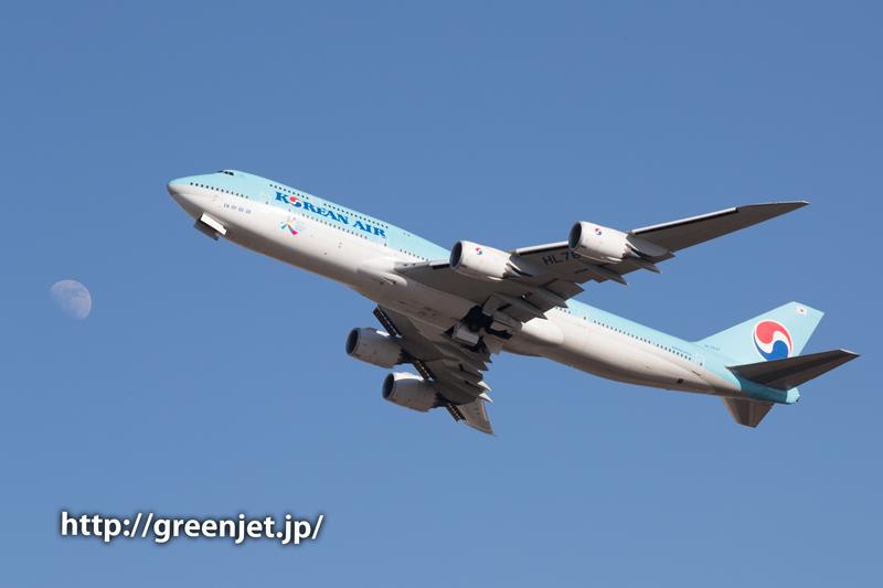 【成田の飛行機撮影スポット】奥の細道@大韓航空のジャンボ