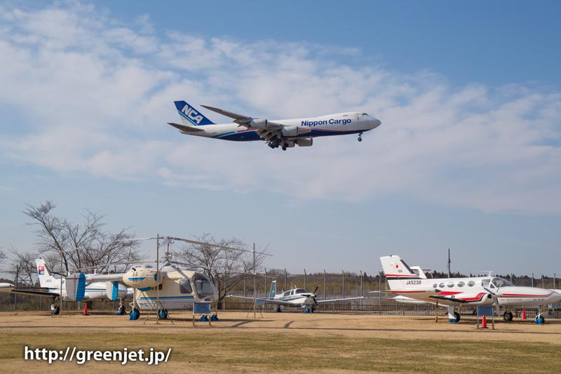 【成田の飛行機撮影スポット】航空科学博物館