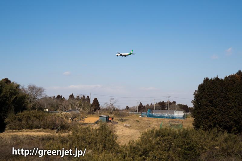【成田の飛行機撮影スポット】ひしだこいびとはし@エバー航空のA330