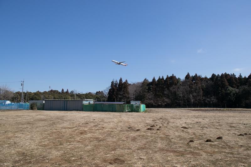 【成田の飛行機撮影スポット】さくらの山臨時駐車場