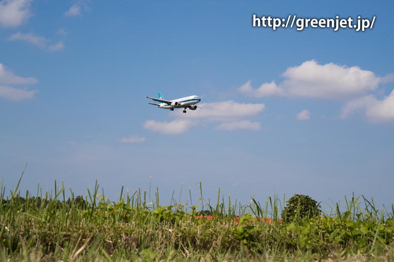 【成田の飛行機撮影スポット】野球場ポイント@中国南方航空のA320