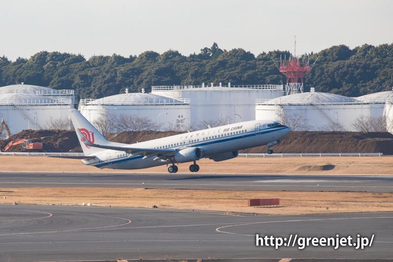 【成田の飛行機撮影スポット】第一ターミナル展望デッキ@エアチャイナのA320