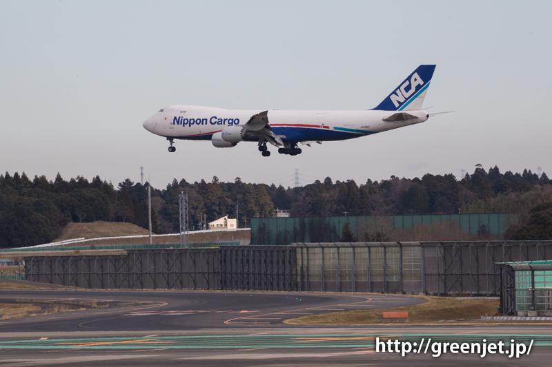 【成田の飛行機撮影スポット】第二ターミナル展望デッキ@NCAのB747