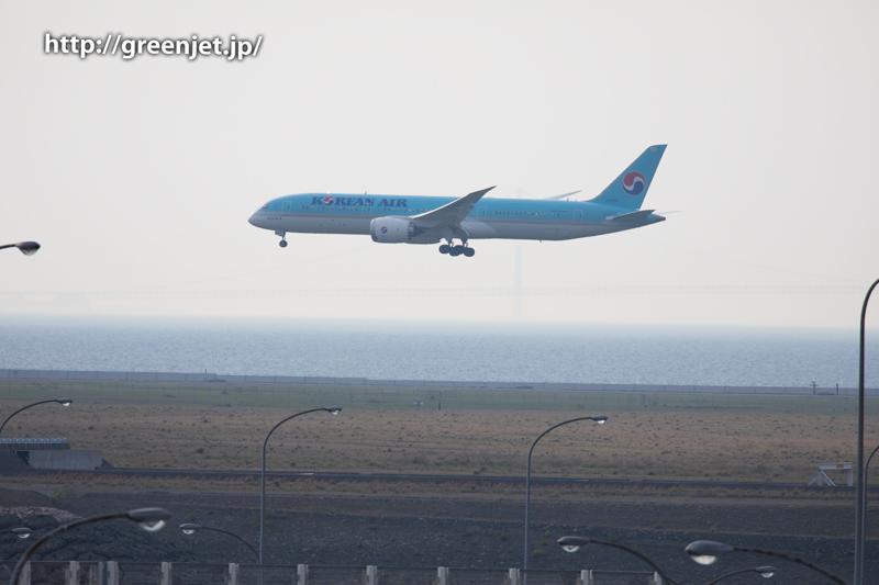 大韓航空のB787-9 DREAMLINER@関空
