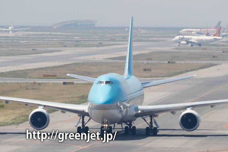 大韓航空のジャンボ@関空
