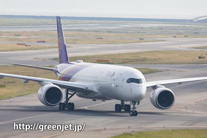 タイ航空のA350@関空