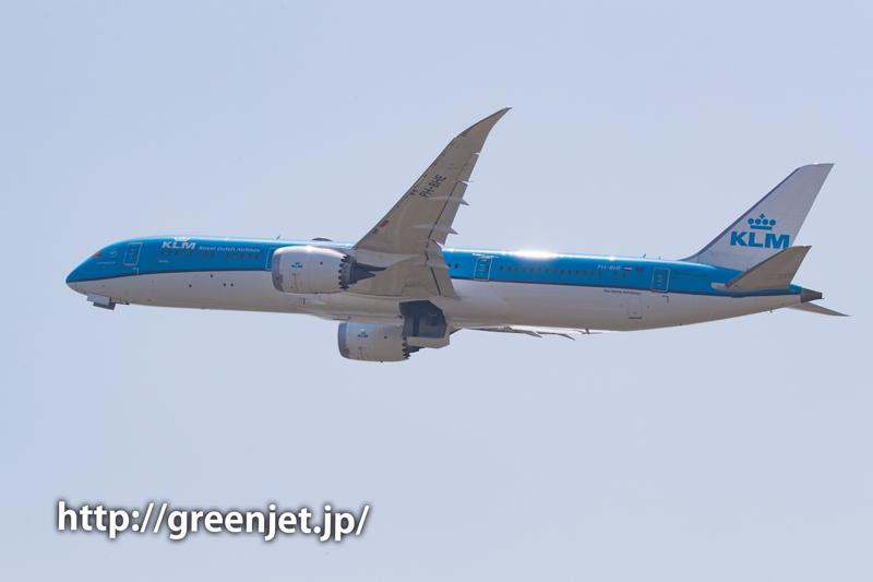 KLMのB787@関空