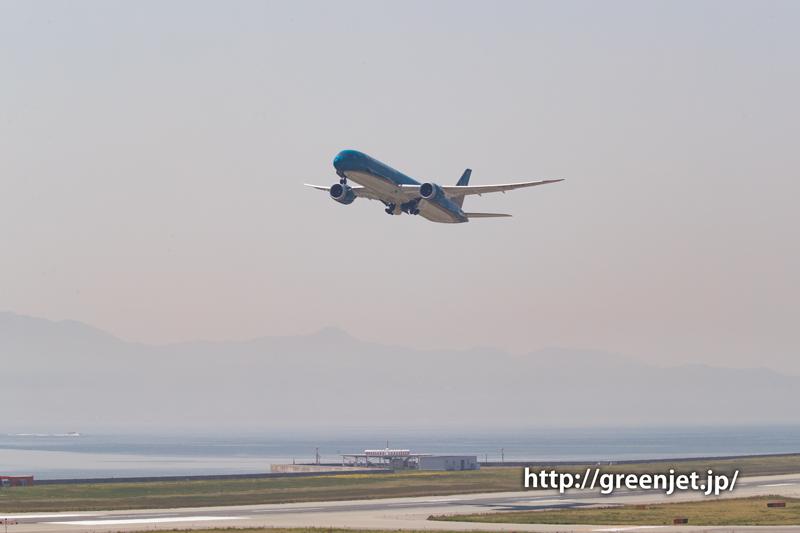 関空からホーチミンへ@ベトナム航空のB787