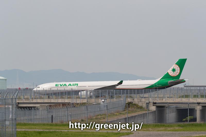 エバー航空のA330@関空