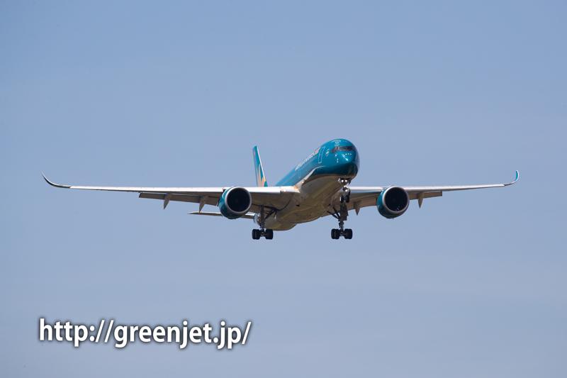 ベトナム航空のA350@成田