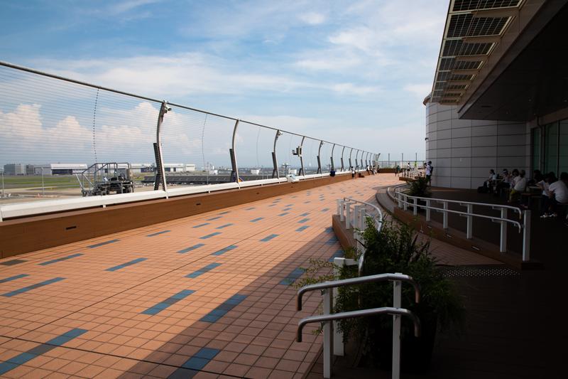 羽田空港国際ターミナル展望デッキ