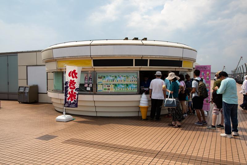 羽田空港第二ターミナル展望デッキ