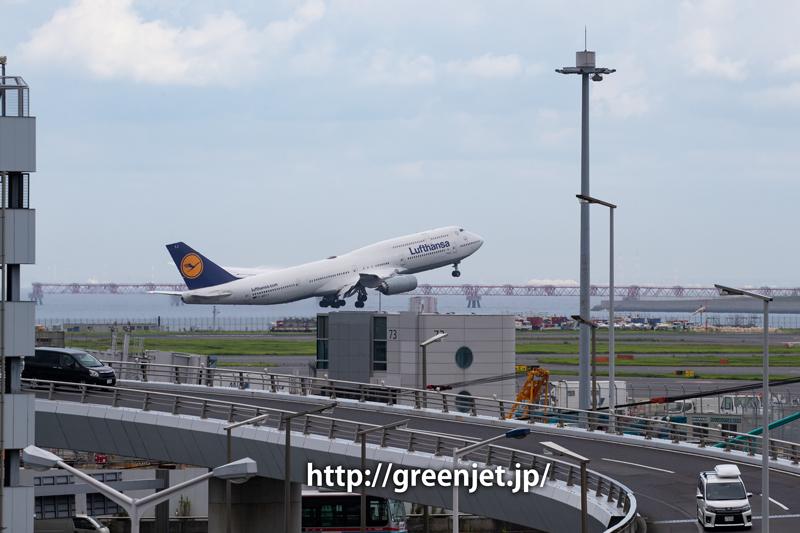 ルフトハンザのジャンボ@羽田空港第一ターミナル駐車場