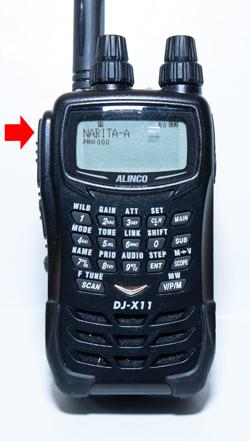 アルインコDJ-X11Aでエアバンド受信
