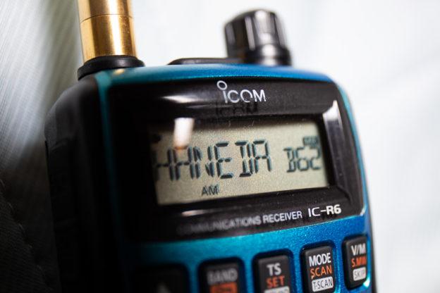 アイコム IC-R6で始めてみよう飛行機無線