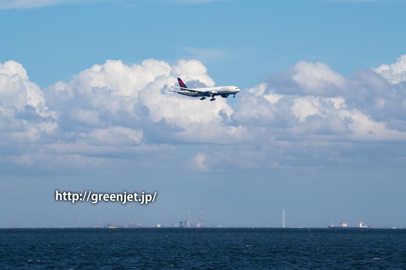 デルタ航空7便@B777~羽田にて