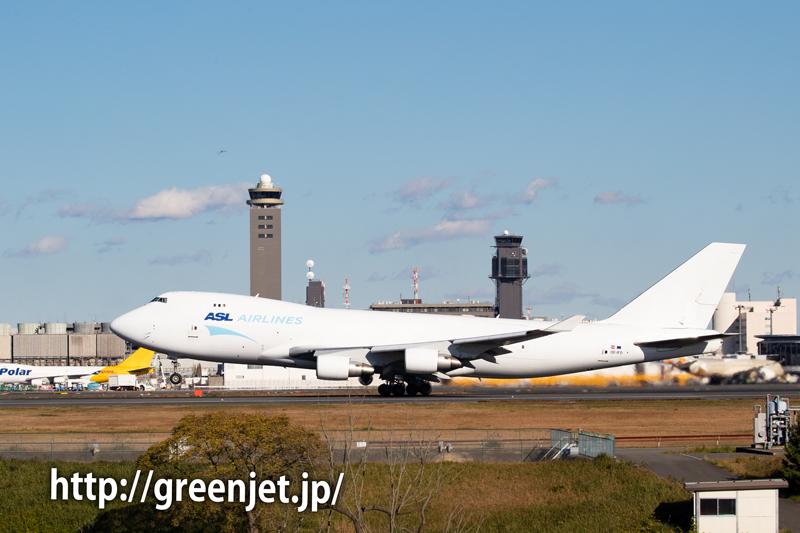 ASL航空ベルギー~成田へ飛来したB747-400