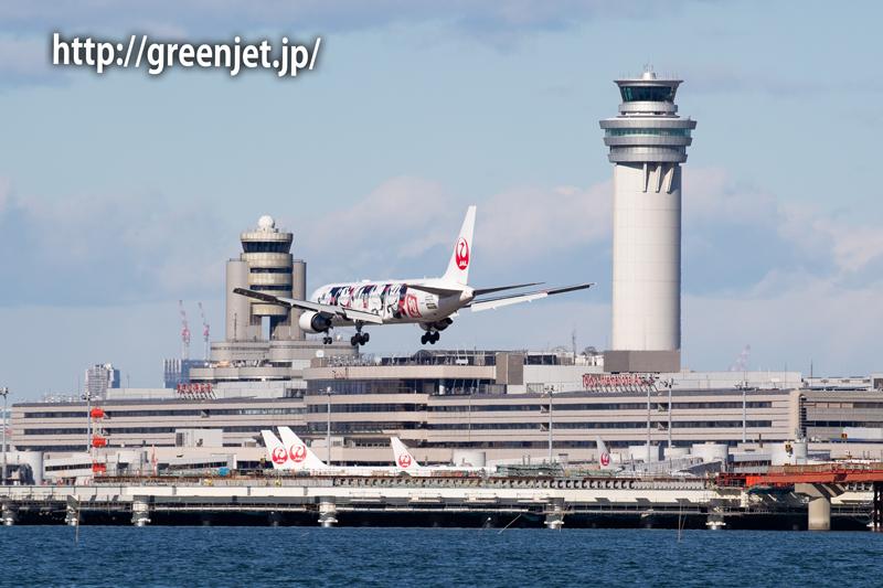JALのミッキージェット@浮島