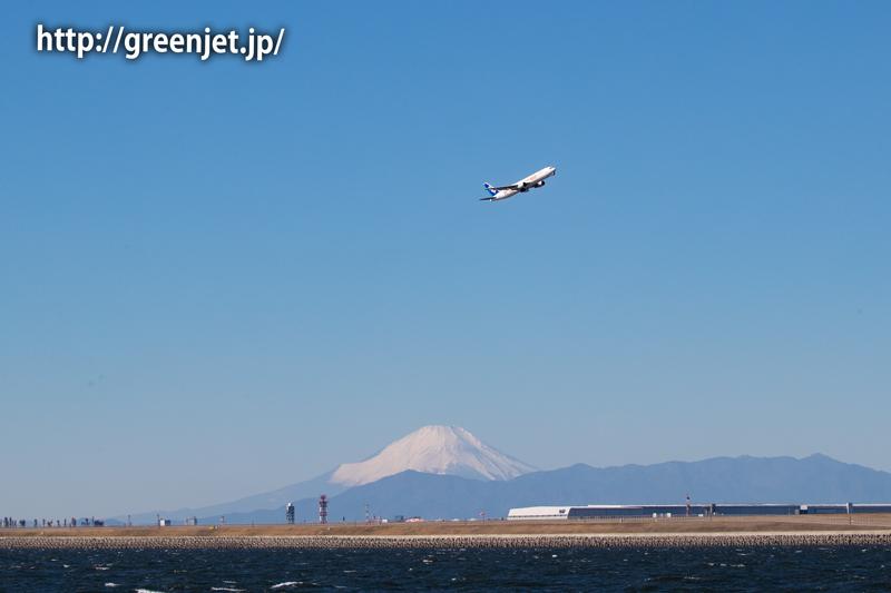 ANA スターウォーズジェット&富士山