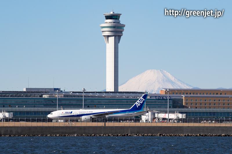 クルーズ船から撮ったANAの美しい飛行機@羽田