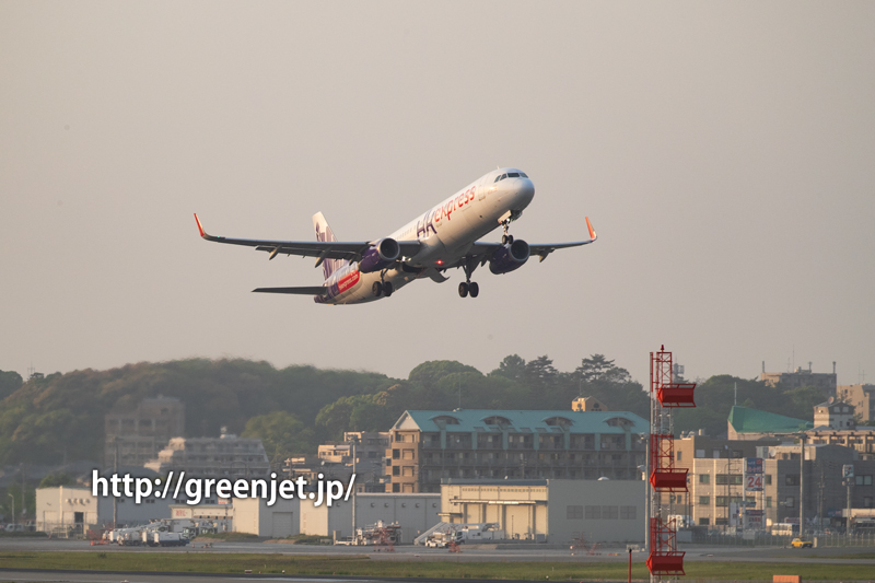【福岡の飛行機撮影ポイント】RWY34エンド