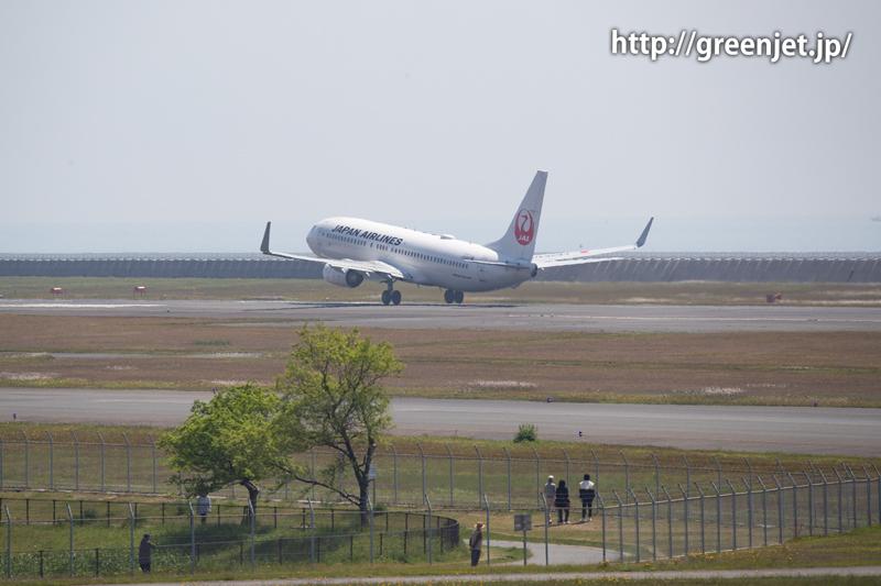【山口宇部空港】飛行機撮影ポイントです