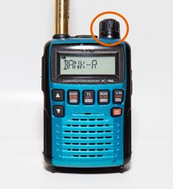 IC-R6で成田到着機の交信を捉えよう!